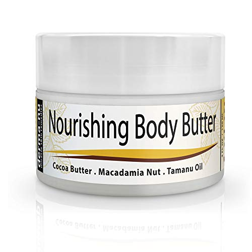 Body Butter Cream, Cocoa Butter Lotion for Stretch Marks, Sc