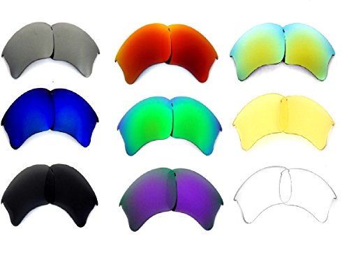 Galaxy Replacement Lenses For Oakley Flak Jacket XLJ 9 Color Pairs SPECIAL OFFER!!