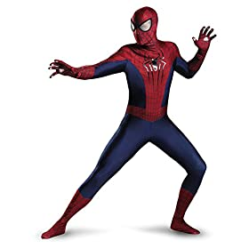 Disguise Men's Marvel The Amazing Spider-Man Theatrical Adult Costume 410wyXBMiaL
