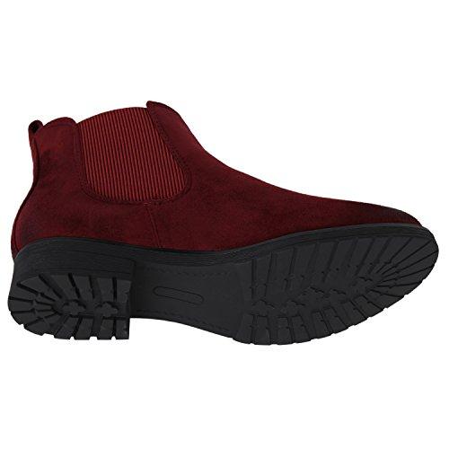 ... Damen Stiefeletten Flache Chelsea Boots Leder-Optik Schuhe Gr. 36-.  Club-Getränke · Hugo Boss Stiefel Adel Leder Reißverschluss Struktur Schwarz 731d04bd18
