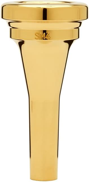 Steven Mead model Denis Wick DW4880E SM4 Gold-plated Euphonium Mouthpiece