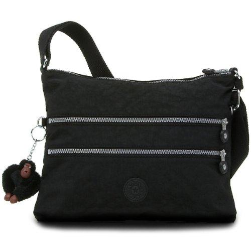 Kipling Luggage Alvar Crossbody Bag, Black, One (Kipling Travel Bag)