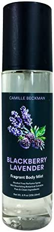 Camille Beckman Fragrant Body Mist, Alcohol Free, Blackberry Lavender, 8 Ounce