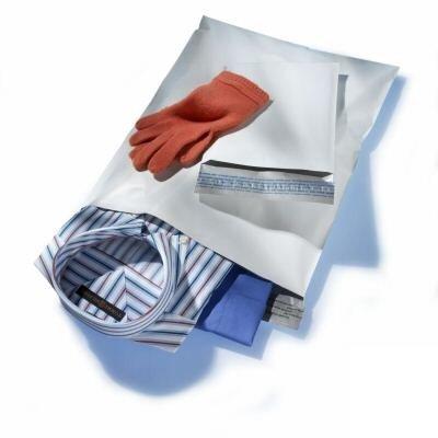 SafePostBags® Ecolight 20 Sobres de plástico bolsa opaqua Para Envíos postal (25x35cm)