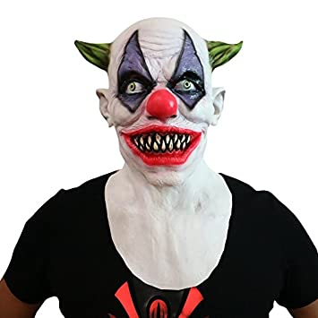 Horror Clown Grusel Maske Perfekt Fur Fasching Karneval