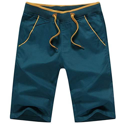 Cordon Latérales Hommes Extérieures Pantalons Tout 4 De Grün Poches Serrage Droites Voies aller 3 Pour x1XHYwqH