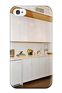 New Case Beck amelia stanley's Shop Snap-on All-white Kitchenette Is Both Fresh And Modern And Functional case cover Skin Compatible With BtW3Oj4YFc9 Iphone 4/4s