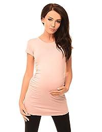 Purpless Maternity Plain Top Pregnancy T-shirt Tee Pregnant Women 5010