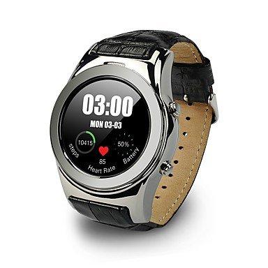 Lemumu WL01Alta Calidad MTK2502 Smart Watch LW01 Reloj de pulsera inteligente vida reloj resistente al agua, Soporte Multi-idioma relojes, plata: Amazon.es: ...
