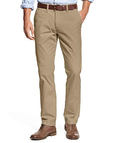 Tommy Hilfiger Mens Tailored Fit Chino Pants (32X30, Mallet)