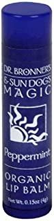 product image for Dr. Bronner's Sun Dog's Organic Lip Balm Peppermint - 0.15 oz