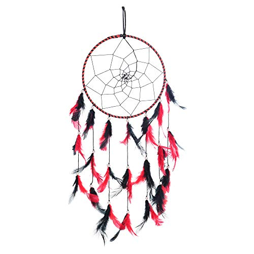 Dreamcatcher Hanging Wind Chimes Handmade Circular Ornament ILU