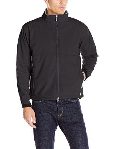 Clique Men's Clique Softshell Full-Zip Jacket, Black, (Life Black Full Zip Jacket)