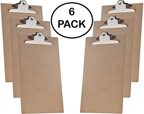 Acrimet Clipboard, Legal Size, Jumbo Clip, Hardboard (6 - (Legal Clipboard)