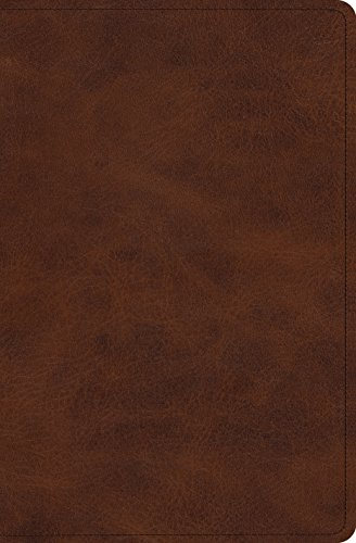 ESV Verse-by-Verse Reference Bible (TruTone, Deep Brown)-Double-column, verse-by-verse format