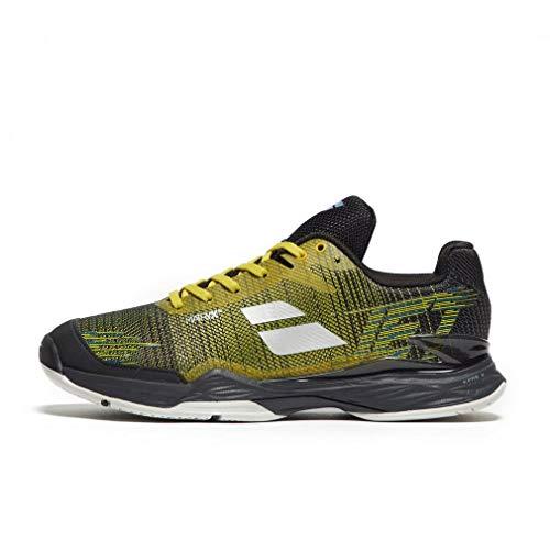 - Babolat Jet Mach II AC Mens Tennis Shoe (Dark Yellow/Black) (11)