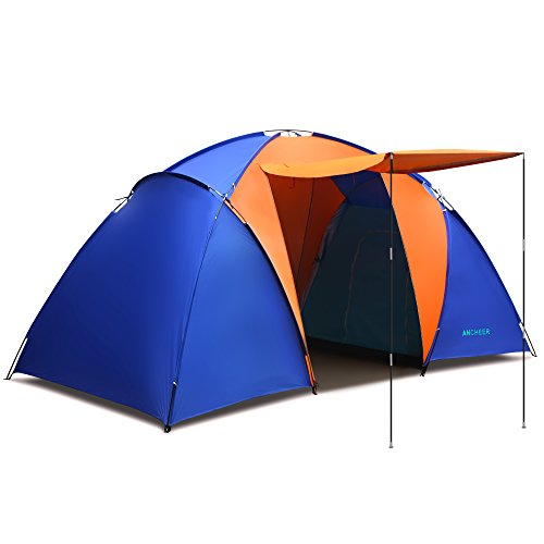 Ancheer-Family-Tent-2-Room-2-3-Person-Waterproof-Camping-Tent-Easy-Setup-Beach-Tent-4-Season-Tent-with-Carry-Bag