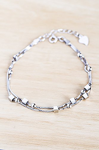 Amazon Com Generic 925 Sterling Silver Bracelets Women Girls Lady