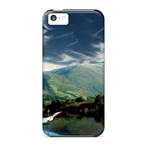 Series Skin Case Cover For Iphone 5c(two-moons-fantasy)