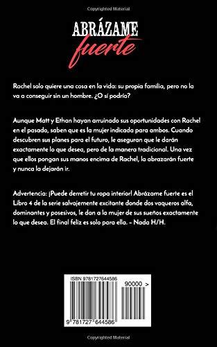 Abrázame fuerte (Condado de Bridgewater) (Volume 4) (Spanish Edition): Vanessa Vale: 9781727644586: Amazon.com: Books