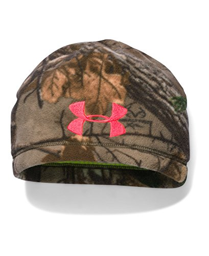Under Armour Women's ColdGear Infrared Scent Control Camo Beanie, Realtree Ap-Xtra (947), One Size - Coldgear Womens Beanie