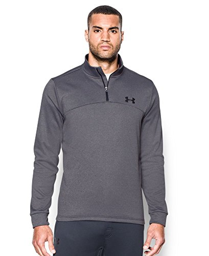 Under Armour Men's Storm Icon 1/4 Zip, Carbon Heather (090), Small
