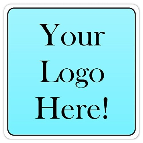 60 custom logo stickers square logo labels 2 inch square custom