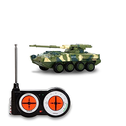 Remote Control Mini Battle Tank Toys Land Armor Tank Car RC Military Model Toy for Kids Children Birthday Christmas Halloween Gift By -