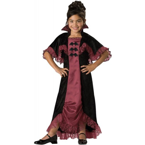 InCharacter Costumes Midnight Vampiress Costume, One Color, Size (Ruffle Vampiress Costumes)