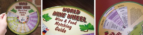 World Wine Wheel/Food Matching Guide Franmara