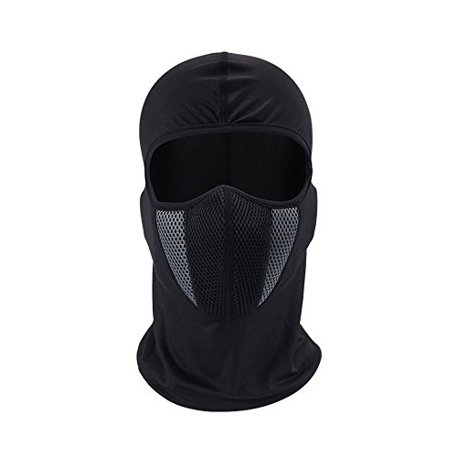 Windproof Face Mask-Balaclava Hood,Cold Weather Motorcycle Ski Mask,Ultimate Thermal Retention in Outdoors Super Comfortable Hypo-allergenic Moisture Wicking
