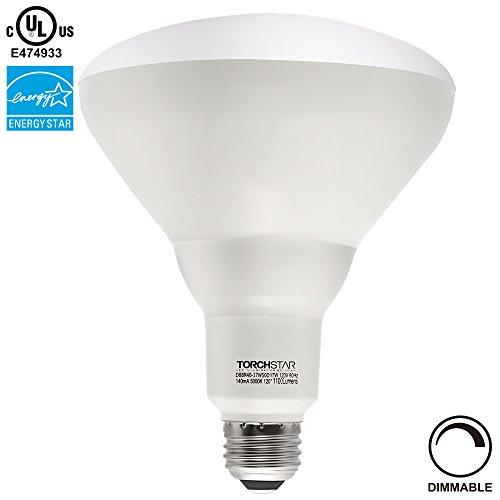 Led Flood Light Keeps Flickering: TORCHSTAR 100W Equivalent 17W Dimmable BR40 LED Flood