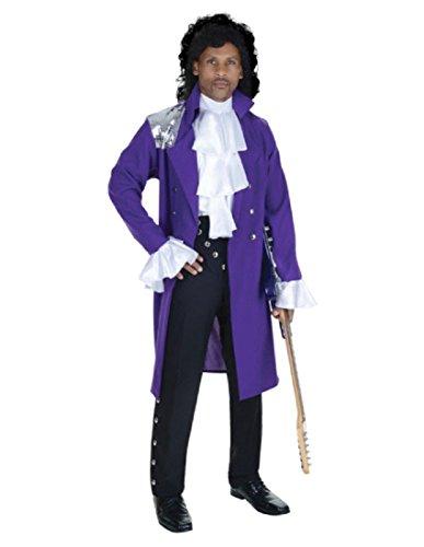 Purple Pop Star Adult Costume - One Size -