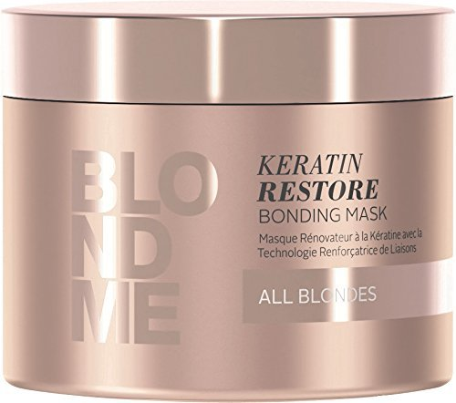 Price comparison product image Schwarzkopf Professional BlondMe All Blondes Keratin Restore Bonding Mask 200ml