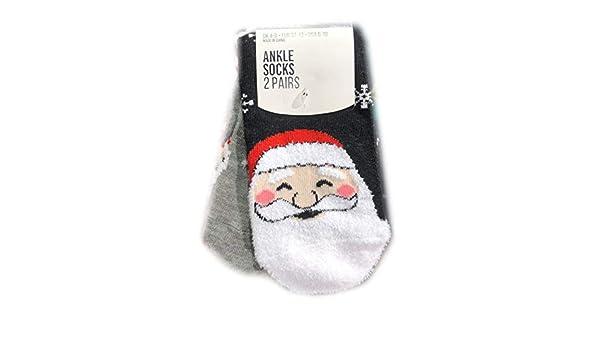 Primark - Calcetines de Navidad para Mujer (Tallas 34 a 42): Amazon.es: Hogar
