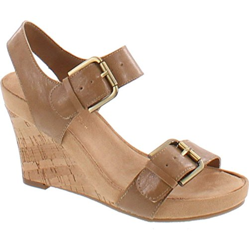 Aerosoles Womens Mega Plush Wedge Sandal