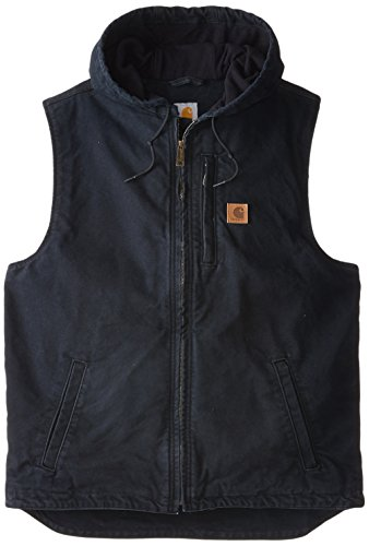 Carhartt Men's Big & Tall Knoxville Vest,Black,X-Large Tall by Carhartt