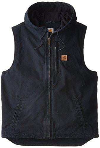 Carhartt Men's Big & Tall Knoxville Vest,Black,Large Tall