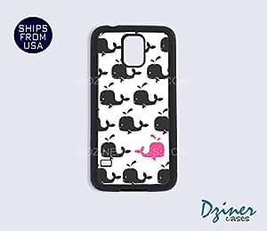 MEIMEIGalaxy S4 Case - Cute Baby WhalesMEIMEI
