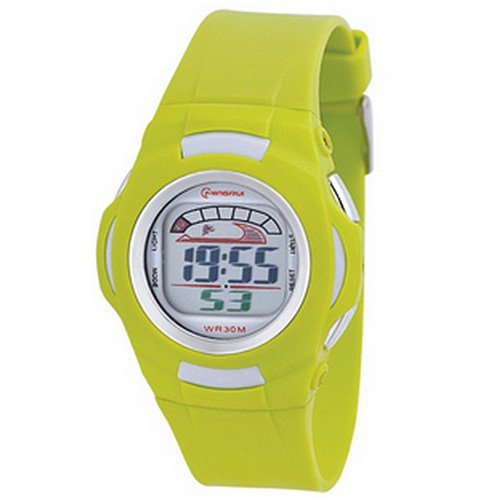 Montre Concept - Relojes digitales hombre Mingrui - Correa Plástico Verde - Dial Redondo Fondo Verde: Amazon.es: Relojes