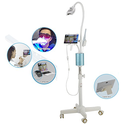 Pevor LED Light Lamp Prefessional Teeth Whitening Machine Mobile Whitening System Teeth Bleaching With Camera & 7 Inch Supply