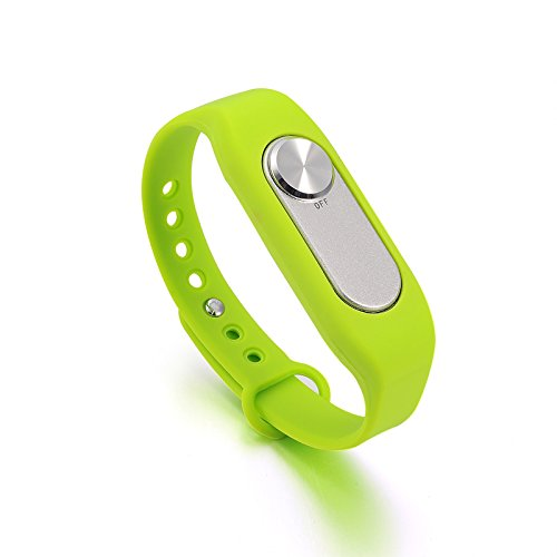 Jrelecs® 8GB Wearable Wristband Pen Wristband Voice Recorder (green)