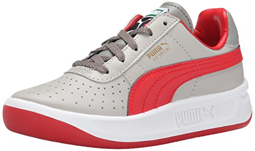 GV Special JR Sneaker  , Drizzle/High Risk Red, 4 M US Big