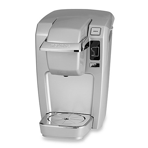 Compact Design Keurig® K10/K15 Brewing System Perfect for smaller spaces, dorms, offices, or vacation homes (Platinum) by Keurig