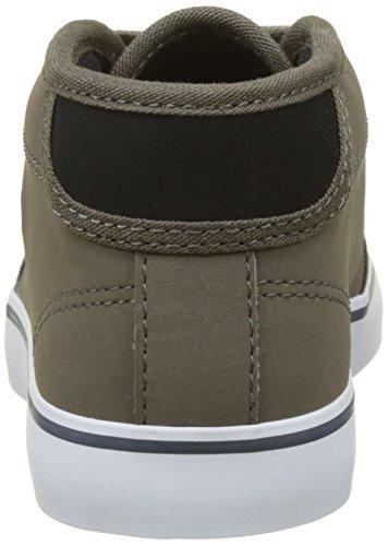 Lacoste Unisex-Kinder Ampthill 417 1 Cac Hohe Sneaker Schwarz (Blk/khk)