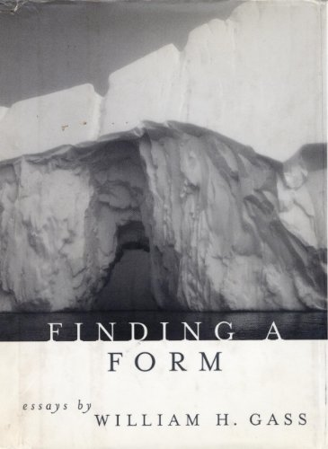 finding a form essays kindle 感想 william h gass 読書メーター