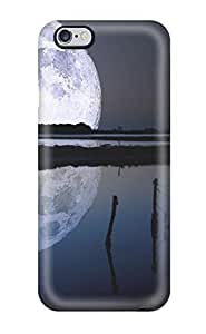 High Grade CaseyKBrown Flexible Tpu Case For Iphone 6 Plus - Full Moon