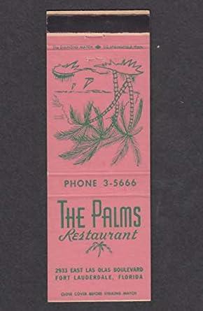 The Palms Restaurant 2933 East Las Olas Blvd Fort Lauderdale