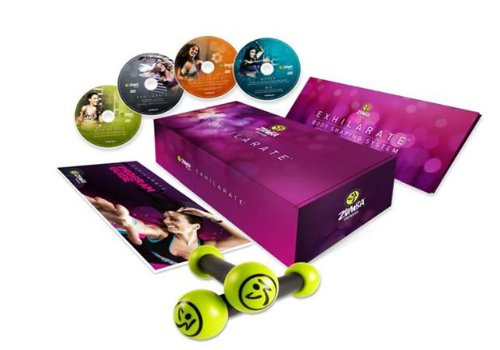 Zumba Fitness® DVD Collection 4-teilig, lila, ZU.8080