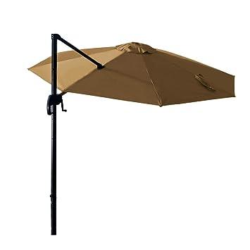 Amazon De Ziigo Sonnenschirm Rechteckig Ampelschirm 295 295cm